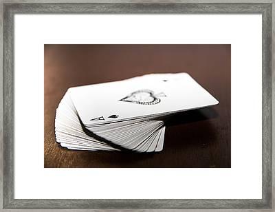 ACE Framed Print by Hyuntae Kim