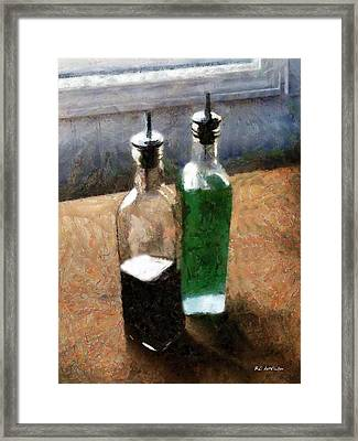 Aceto E Olio Framed Print by RC deWinter