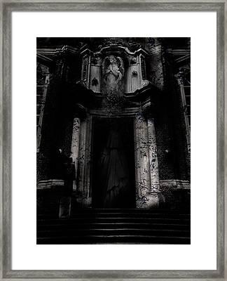 Acid Reflux Framed Print by David Fox