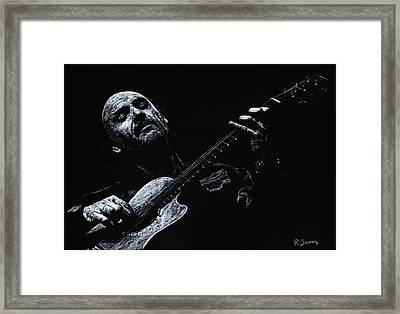 Acoustic Serenade Framed Print by Richard Young