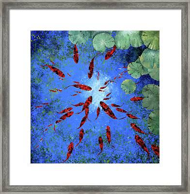 Acqua Azzurra Framed Print by Guido Borelli