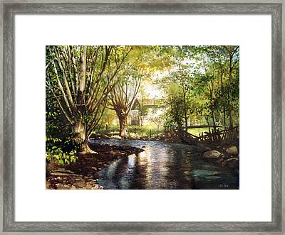 across Bulgaria 4 Framed Print by Stoian Pavlov