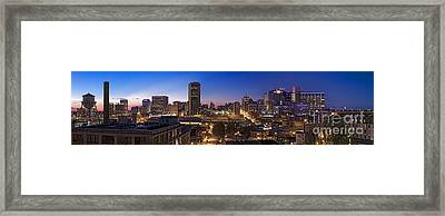 Across Richmond Framed Print by Tim Wilson