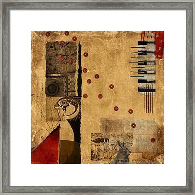 Across The Board Framed Print by Carol Leigh