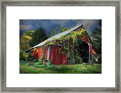 Adams County Winery Framed Print by Lori Deiter