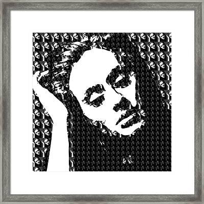 Adele 21 Album Cover Digital Art Framed Print by Ryan Dean