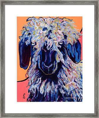 Adelita   Framed Print by Pat Saunders-White
