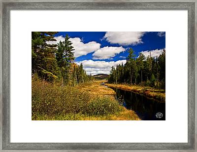 Adirondacks Framed Print by Brad Hoyt