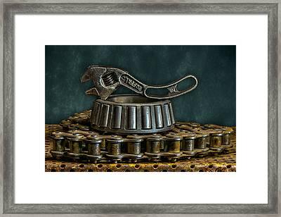 Adjustable Wrench Framed Print by Paul Freidlund