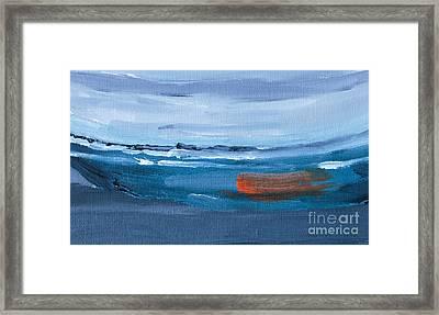 Adrift Framed Print by Caffrey Fielding