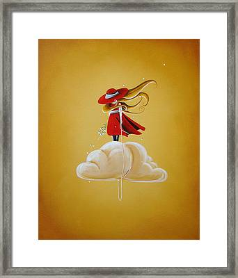 Adrift Framed Print by Cindy Thornton