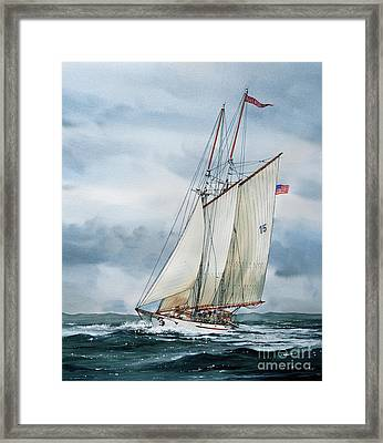 Adventuress Framed Print by James Williamson