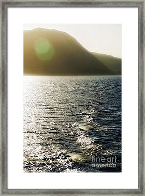 Aegean Sea Framed Print by HD Connelly