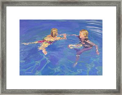 Afloat Framed Print by William Ireland