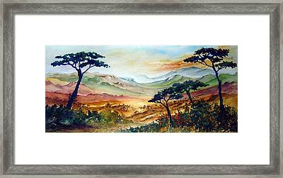 Africa Framed Print by Joanne Smoley
