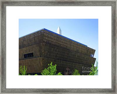 African American History And Culture 1 Framed Print by Randall Weidner