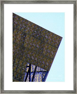 African American History And Culture 4 Framed Print by Randall Weidner