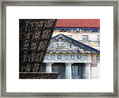 African American History And Culture 5 Framed Print by Randall Weidner