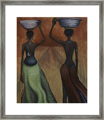 African Desires Framed Print by Kelly Jade King
