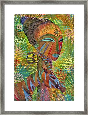 African Queens Framed Print by Jennifer Baird