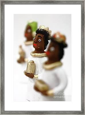 African Wise Men Framed Print by Gaspar Avila
