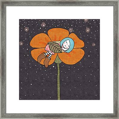 After A Long Day Framed Print by Carolina Parada