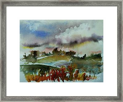 After A Storm Framed Print by Xueling Zou