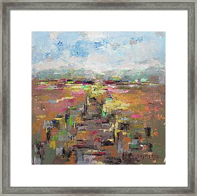 After Rain Framed Print by Becky Kim