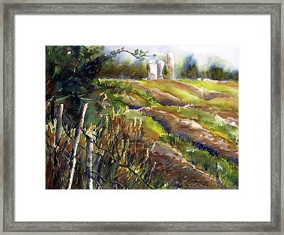 After The Harvest Framed Print by Chito Gonzaga