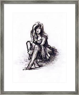 After The Party Framed Print by Rachel Christine Nowicki