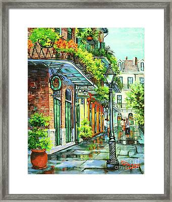 After The Rain Framed Print by Dianne Parks