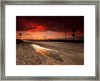 After The Storm Framed Print by Cale Best