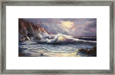 After The Storm Framed Print by Joni McPherson