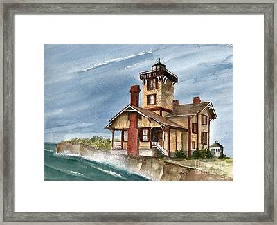 After The Storm Framed Print by Nancy Patterson