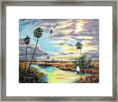 After The Storm Framed Print by Riley Geddings
