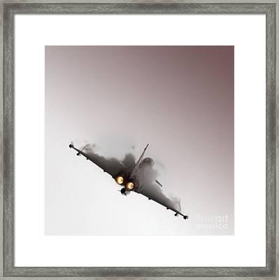 Afterburner Framed Print by Angel  Tarantella