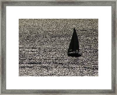 Afternoon Cruise Framed Print by Christopher Kirby