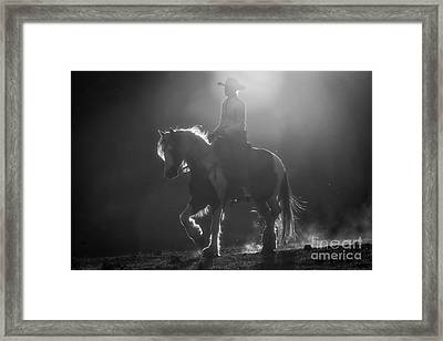 Afternoon Ride Framed Print by Ana V Ramirez