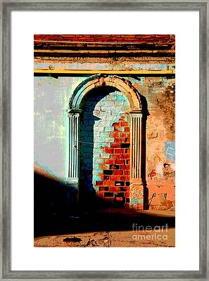 Afternoon Sun Framed Print by Mexicolors Art Photography