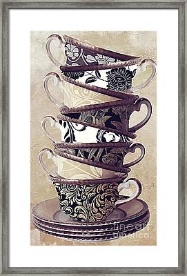 Afternoon Tea Framed Print by Mindy Sommers