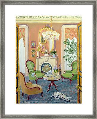 Afternoon Tea Framed Print by William Ireland