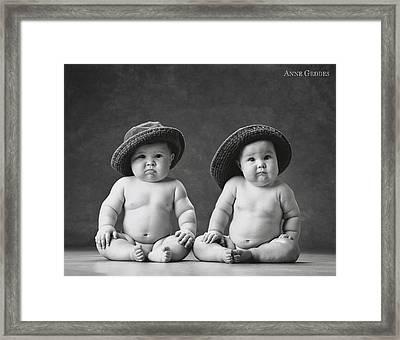 AG Framed Print by Anne Geddes