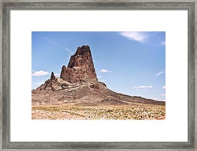 Agathla Peak Framed Print by Ryan Kelly