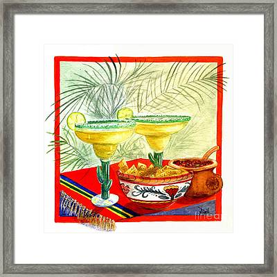 Agave Amigos Framed Print by Marilyn Smith
