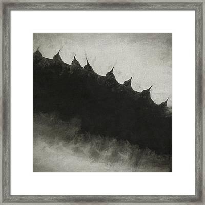 Agave Impression Five Framed Print by Carol Leigh