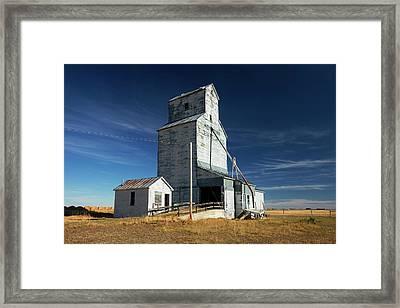 Agawam Elevator Framed Print by Todd Klassy