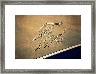 Aged To Perfection Framed Print by Caitlyn  Grasso
