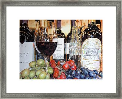 Aged To Perfection Framed Print by Gail Chandler