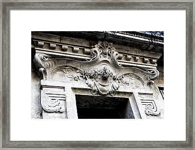 Agen Architecture Framed Print by Georgia Fowler