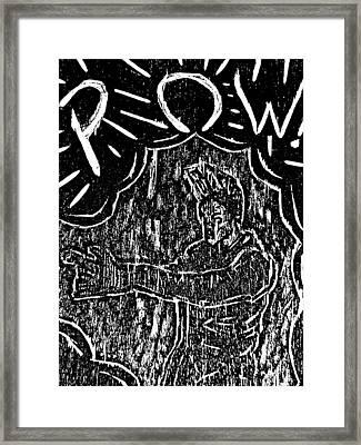 Agent A Framed Print by Jera Sky